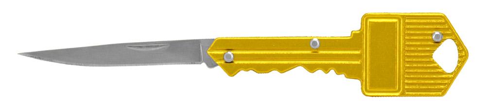 2.75 in Key Folding Knife - Gold