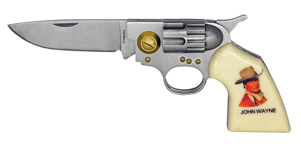 4.5 in Revolver Folding Knife - John Wayne
