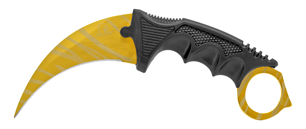 7.75 in Claw Rip Blade - Black and Gold