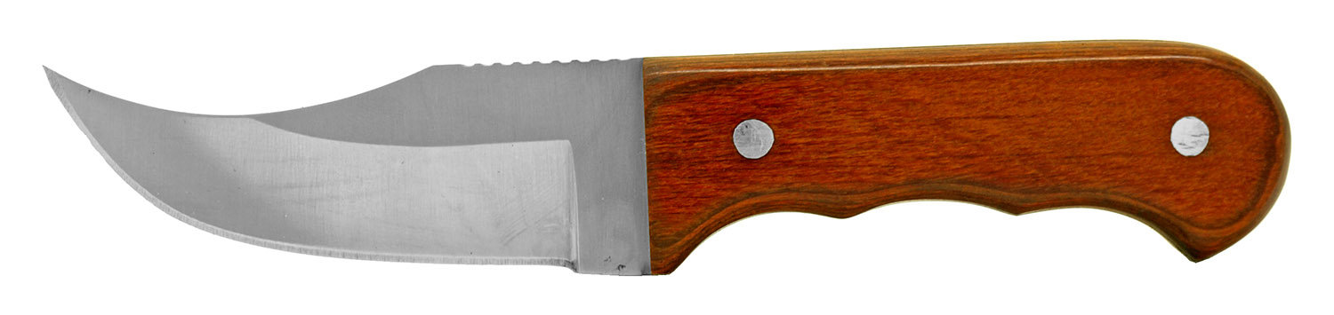 6.38 in Hunting Knife - Wooden