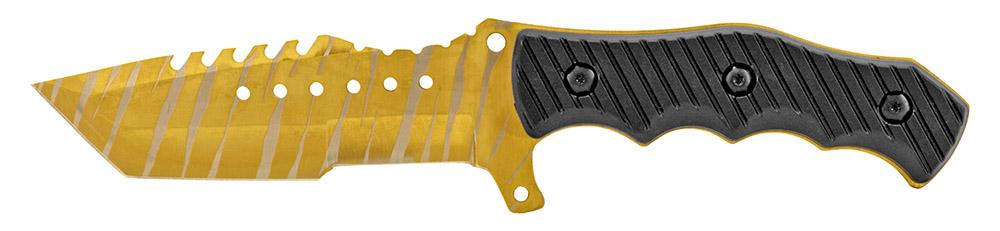 4.38 in Elite Tactical Knife - Golden