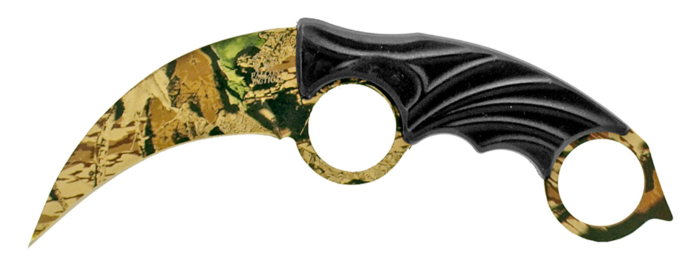7.75 in Claw Rip Blade - Woodland Camo
