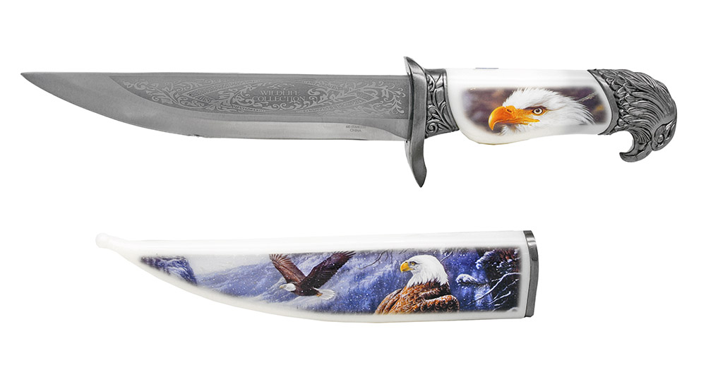 13.5 in Wildlife Collection Knife - Eagle