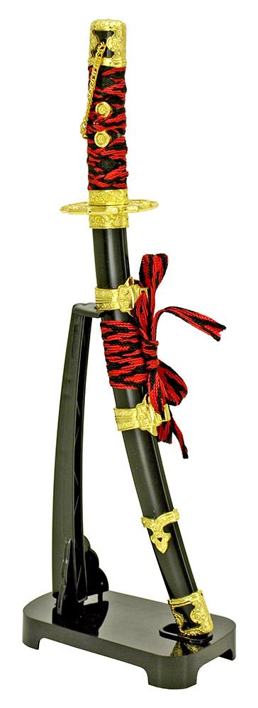 11 in Samurai Sword Letter Opener - Red