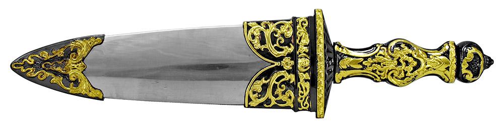 14 in Medieval Knife - Black