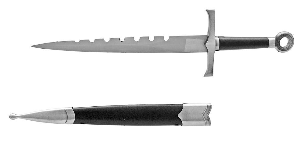 15.75 in Classic Dagger - Silver