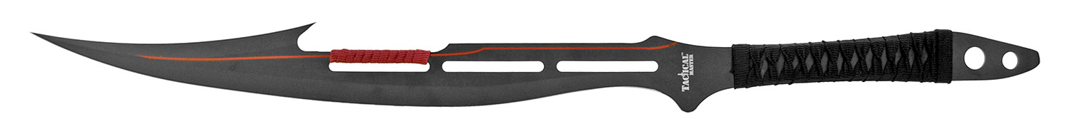 27.25 in Full Tang Machete - Black and Red