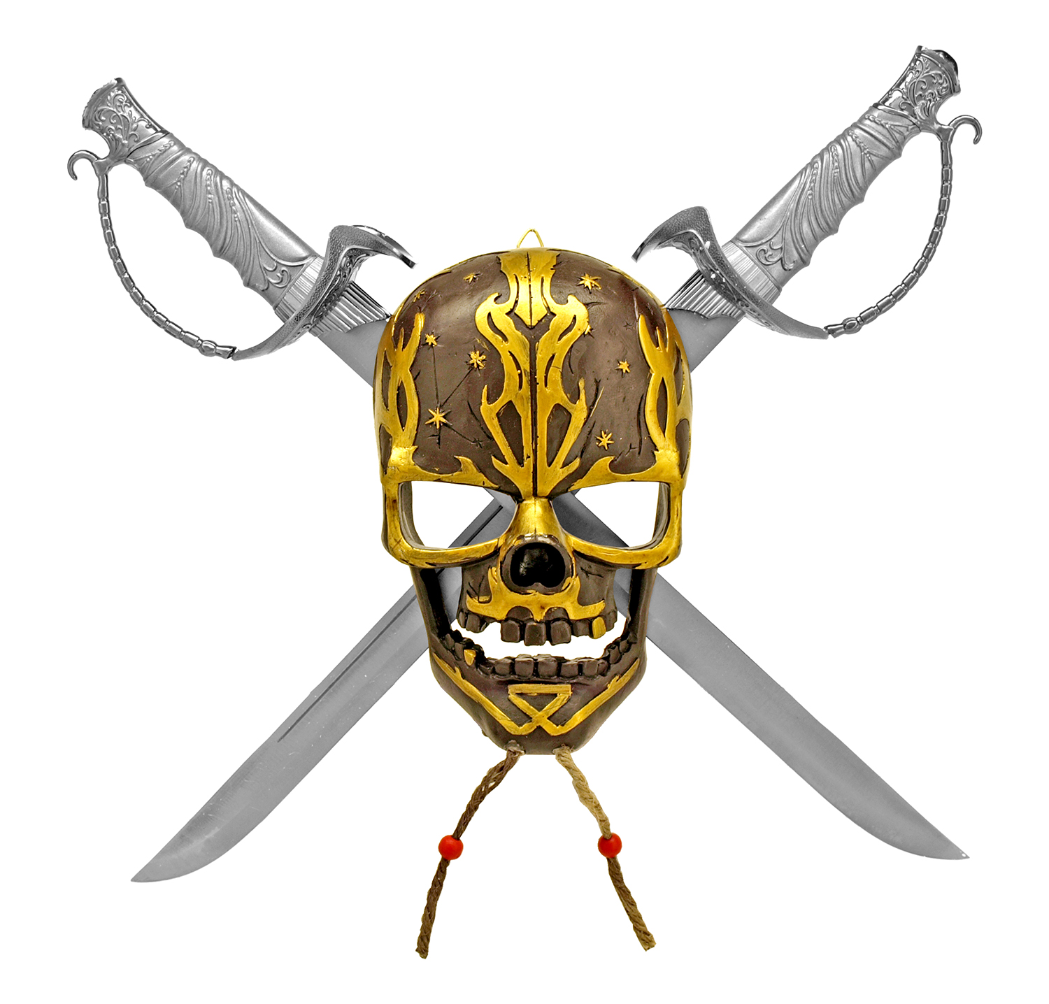 Pirate Skull with Crossed Blades