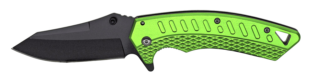 4.75 in Spring Assisted Knife - Green