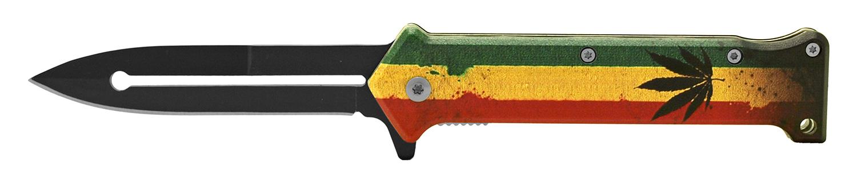 4.63 in Stiletto Folding Knife - Mary Jane