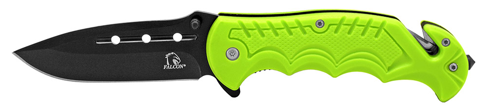 4.5 in Spring Assisted Tactical Folding Knife - Green