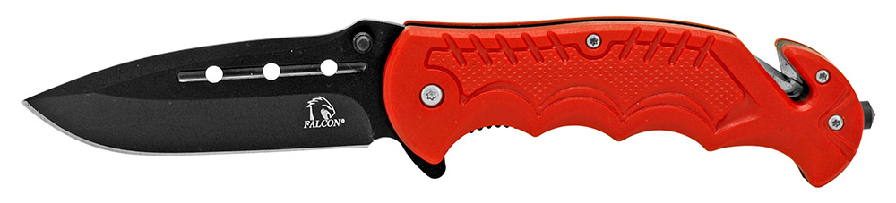 4.5 in Spring Assisted Tactical Folding Knife - Red