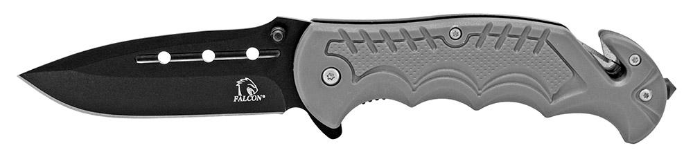 4.5 in Spring Assisted Tactical Folding Knife - Silver