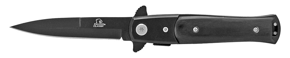 4 in Spring Assisted Pocket Knife - Black