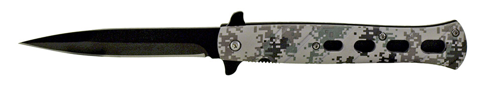 5 in Spring Assisted Folding Knife - Digital Camo