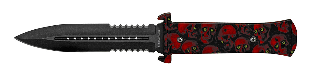 9.5 in Hunting Knife - Red