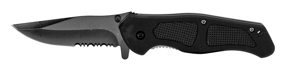 4.75 in Spring Assisted Folding Knife - Black