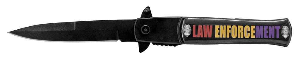 4.75 in Law Enforcement Stiletto Folding Knife