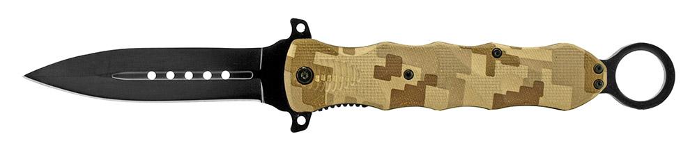 6 in Spring Assisted Folding Knife - Desert Digital