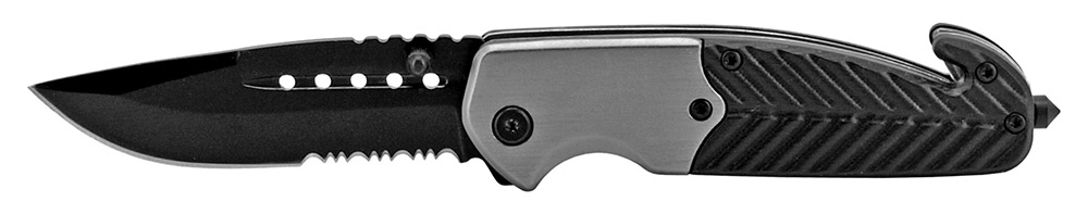 4.5 in Tactical Work Knife - Grey