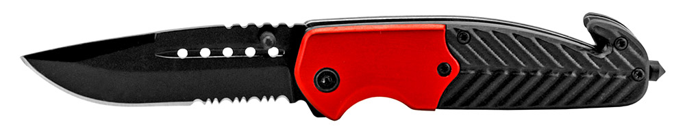 4.5 in Tactical Work Knife - Red