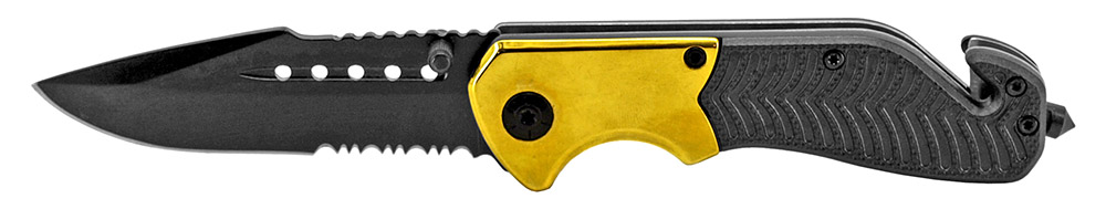 4.5 in Tactical Folding Knife - Gold