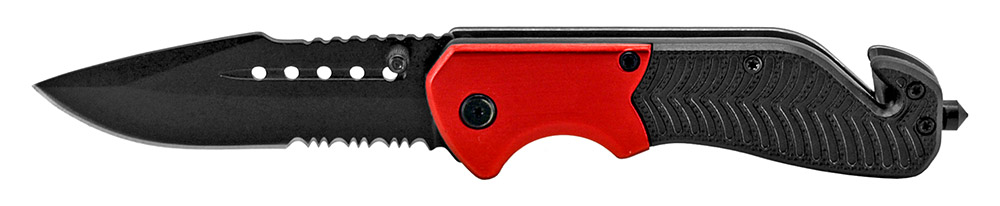 4.5 in Tactical Folding Knife - Red