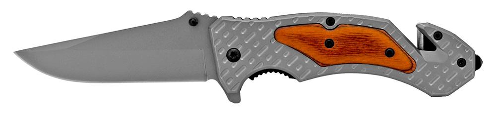 4.5 in Heavy Duty Folding Knife - Grey