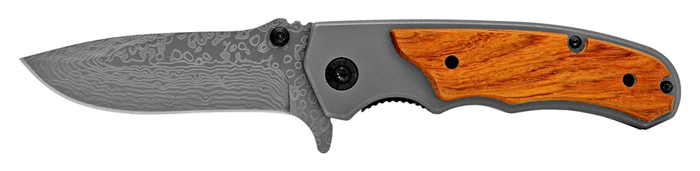 4.5 in Spring Assisted Folding Woodsman Knife