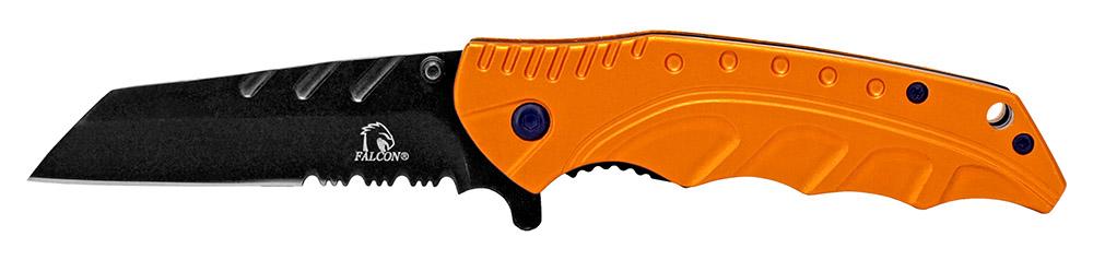 4.5 in Spring Assisted Folding Knife - Orange