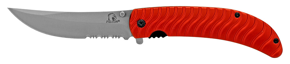 4.5 in Spring Assisted Tactical Rescue Knife - Red