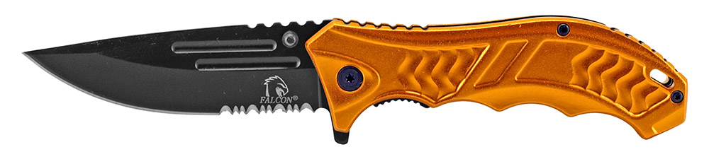 4.75 in Spring Assisted Folding Knife - Orange