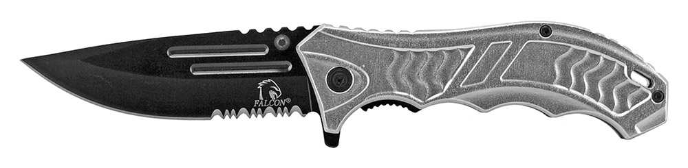 4.75 in Spring Assisted Folding Knife - Silver