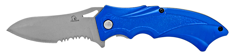 4.5 in Spring Assisted Sling Folding Blade - Blue