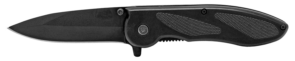 4.5 in Spring Assisted Pocket Folding Knife - Black
