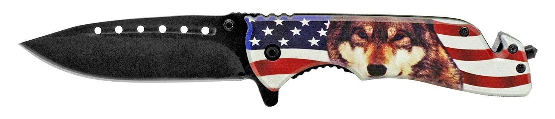 5 in American Wolf Folding Knife