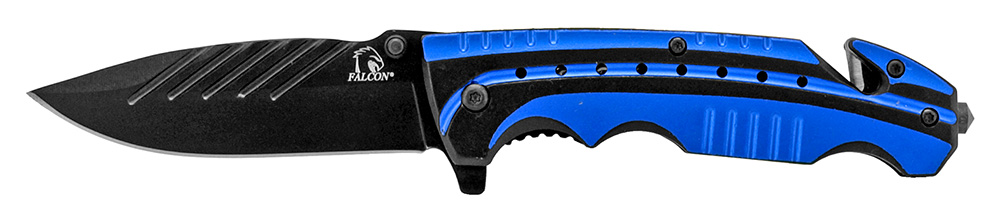 4.5 in Sportsman Folding Knife - Blue