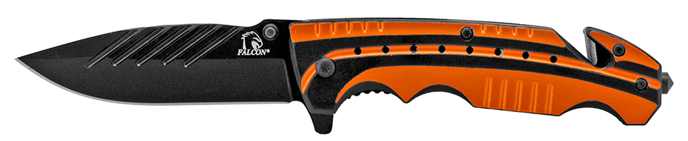 4.5 in Sportsman Folding Knife - Orange