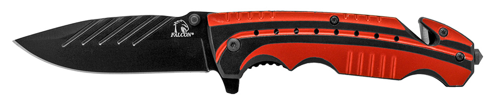 4.5 in Sportsman Folding Knife - Red