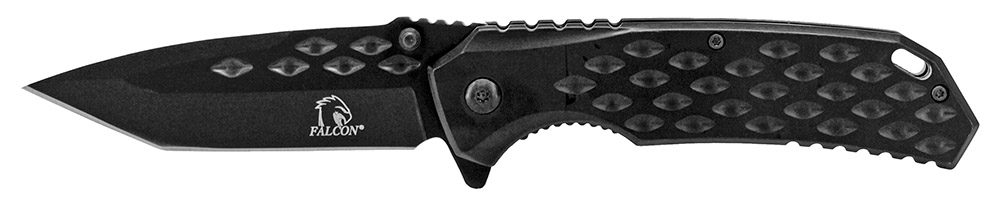 4.75 in Spring Assisted Heavy Duty Folding Knife - Black
