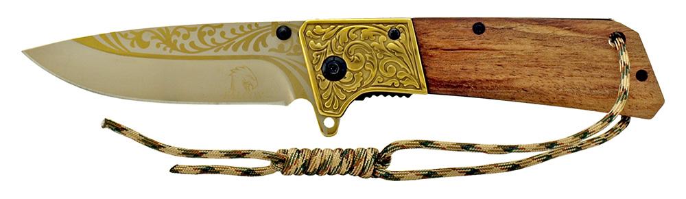 4.75 in Western Pocket Knife - Golden