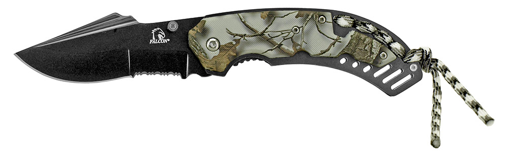 4.5 in Spring Assisted Folding Knife - Snow Camo