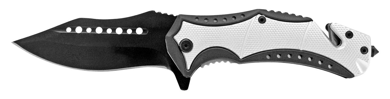 4.75 in Modern Pocket Knife - Silver