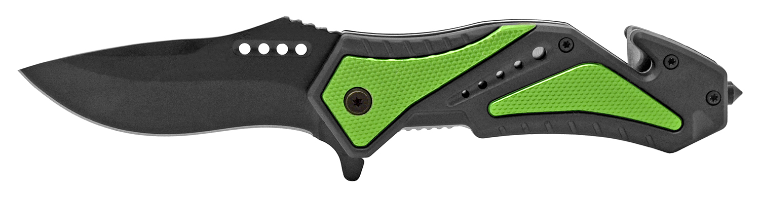 4.75 in Top Tech Pocket Knife - Green