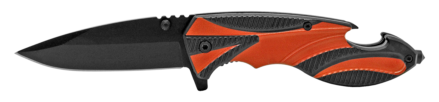 4.5 in Carving Pocket Knife - Orange