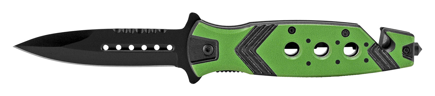 4.75 in Aztec Folding Knife - Green