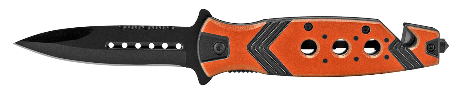 4.75 in Aztec Folding Knife - Orange