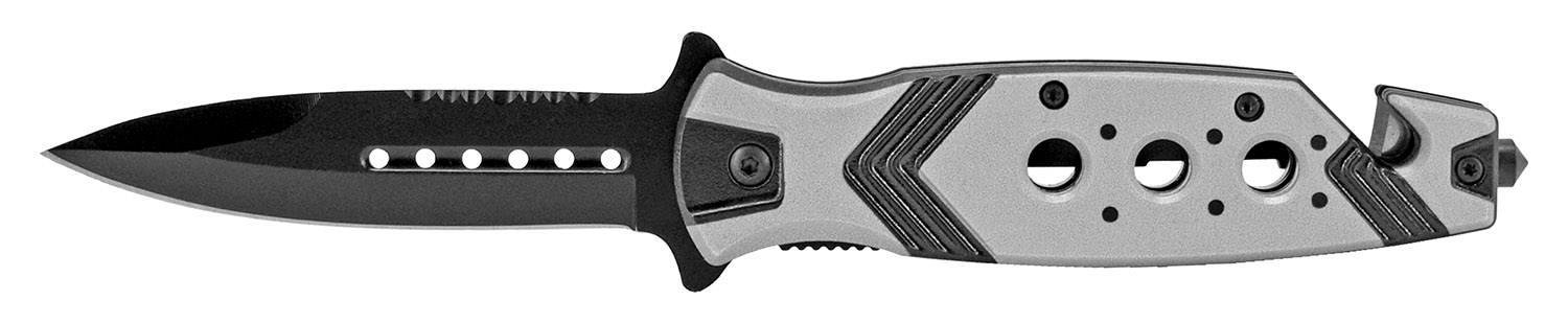 4.75 in Aztec Folding Knife - Silver