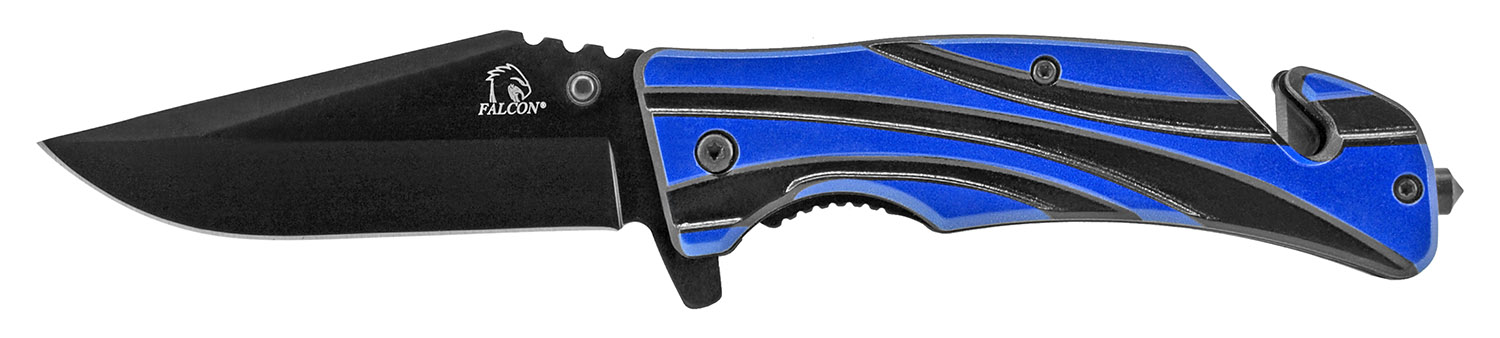 4.63 in Wave Pocket Knife - Blue