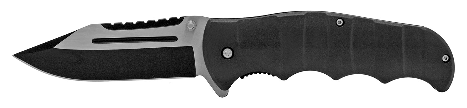 4.75 in Hunter's Pocket Knife - Black